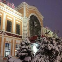 Photo taken at Savyolovsky Rail Terminal by Jane M. on 3/15/2013