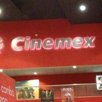 Foto tomada en Cinemex por Etna G. el 1/13/2013