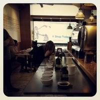 Photo taken at Modern Coffee by joanne on 4/5/2013