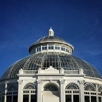 Photo taken at Monet's Garden at The New York Botanical Garden by Pablo A. on 12/27/2014