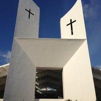 Photo taken at Parroquia de Cristo Resucitado by Caly S. on 3/29/2013