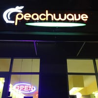 Photo taken at Peachwave by Amber E. on 3/27/2013