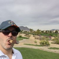 Photo taken at Arroyo Golf Club by Miguel D. on 10/27/2015