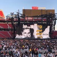 Photo taken at Levi's Stadium Fan Walk by Jason Z. on 6/21/2018
