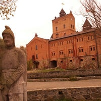 Photo taken at Замок Радомиcль / Radomysl Castle by Alex R. on 10/13/2012