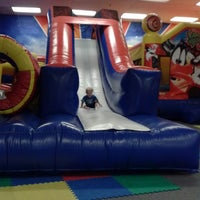 Photo taken at Bounce Realm by Jennie on 10/20/2013