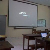 Photo taken at SMPN 3 Denpasar by Kharisma Wulandari Putra on 10/13/2012
