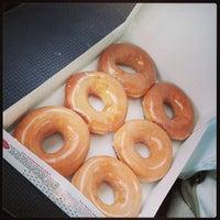 Photo taken at Krispy Kreme Doughnuts by Miranda S. on 5/10/2013