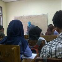 Photo taken at Gedung D Universitas Andalas by annisa h. on 2/21/2013