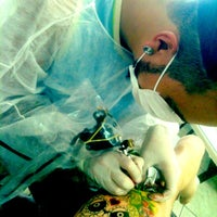 Photo taken at Leandrinho Tattoo by Bruna S. on 12/8/2012
