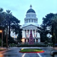 Photo taken at California State Capitol Building by Sasha B. on 12/16/2012
