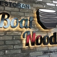 Photo taken at Boat Noodle by Crystal C. on 5/13/2014