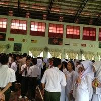 Photo taken at SMK Ranau by Jane J. on 2/7/2013