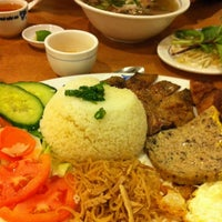 Photo taken at Pho Dau Bo Restaurant by Lee on 10/28/2012