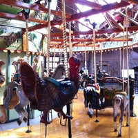 Photo taken at Bear Mountain Carousel by Chris R. on 3/17/2013