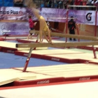 Photo taken at Complejo Nissan de Gimnasia by Lulu R. on 11/24/2012