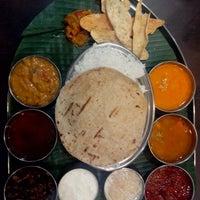 Photo taken at Sankranti - Telugu restaurant by Kiran G. on 8/22/2013