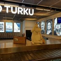 Photo taken at Turku Airport (TKU) by Robert E. on 5/2/2016