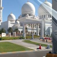 Photo taken at Sheikh Zayed Grand Mosque by Тархан Д. on 1/2/2013