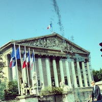 Photo taken at Assemblée Nationale by Clemence B. on 6/6/2013