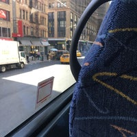 Photo taken at Mega Bus - 7th Ave & 27th St by ChristianMV on 4/14/2017