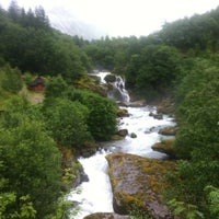 Photo taken at Lunde turiststasjon by Андро М. on 7/17/2013