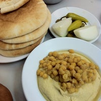Photo taken at Suhila Hummus by Evyatar S. on 3/28/2014