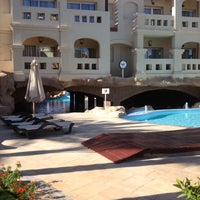 Снимок сделан в Rixos Sharm El Sheikh пользователем Eugene T. 12/2/2012
