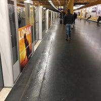 Photo taken at Métro Gare de Lyon [1,14] by Alexandre M. on 2/20/2017