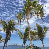 Photo taken at North Beach Mana Island Fiji by Marcela U. on 12/25/2015