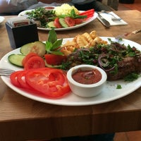 Foto scattata a APSHERON Restaurant da Kristaps K. il 3/29/2014