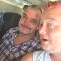 Photo taken at On The Plane by Daniel P. on 6/18/2015