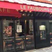 Photo taken at Le Faubourg Café by Bernard C. on 2/3/2017