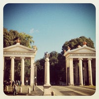 Photo taken at Villa Borghese by Marina C. C. on 10/14/2012