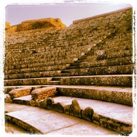 Photo taken at Teatro Ostia Antica by Marina C. C. on 10/29/2013