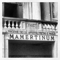 Photo taken at Carcere Mamertino by Marina C. C. on 10/20/2013
