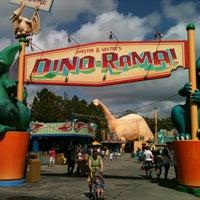 Photo taken at DinoLand U.S.A. by @ M. on 2/23/2013