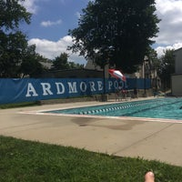 Photo taken at Ardmore Pool by Brittany M. on 8/13/2017