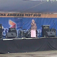 Photo taken at SMA Angkasa Medan by Puji N. on 11/24/2012