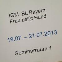 Photo taken at IG Metall Jugendbildungszentrum Schliersee by Johannes K. on 7/19/2013