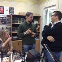 Photo taken at Большое Радио by Alexey K. on 11/14/2013