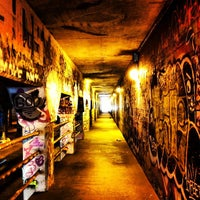 Photo taken at Krog Street Tunnel by Mark B. on 1/26/2013