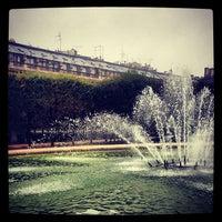 Foto tirada no(a) Jardin du Palais Royal por Mark B. em 10/8/2012