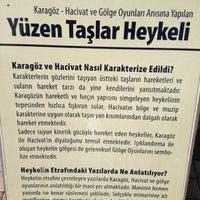 10/26/2012 tarihinde 💃 şemsaziyaretçi tarafından Yüzen Taşlar Heykeli'de çekilen fotoğraf