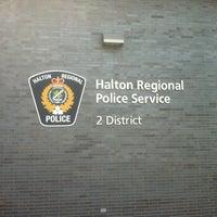 Photo taken at HRPS - Halton Regional Police Service - 2 District by Steve W. on 6/26/2013