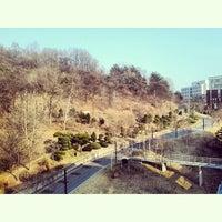 Photo taken at 대전대학교 기숙사 by Ahbabta S. on 3/23/2014