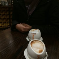 Photo taken at Max Brenner Chocolate Bar by Suhail S. on 7/23/2016