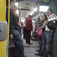 Photo taken at Metrobus Estacion Heroe de Nacozari by Pezfügo L. on 3/24/2014