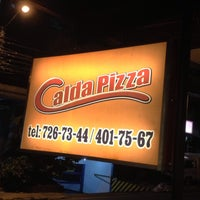 Photo taken at Calda Pizza by ging💟 d. on 6/20/2013