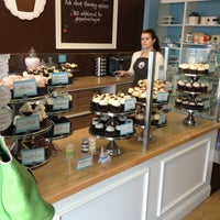 Photo taken at Flavor Cupcakery by Mary D. on 3/23/2013